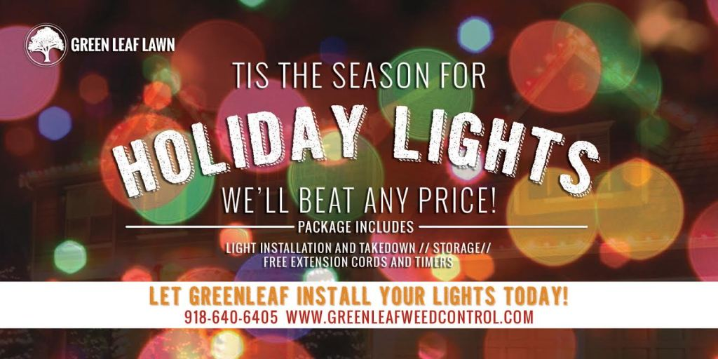Christmas light installers Tulsa | Holiday Light Installation